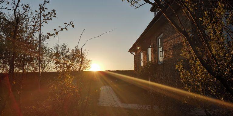 Sonnenaufgang auf Neuwerk